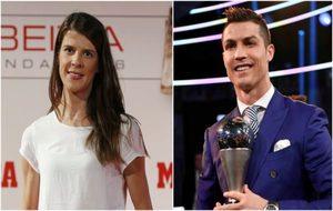 Ruth Beitia y Cristiano Ronaldo