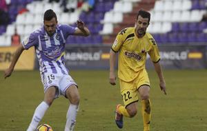 López Garai durante el partido contra el Valladolid