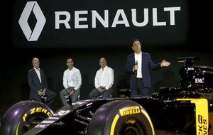 La presentaci�n de 2016 del equipo Renault