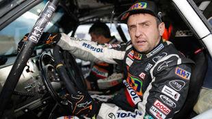 Isidre Esteve, durante esta edición del Dakar
