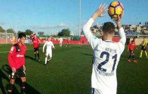 Imagen del encuentro disputado entre el RCD Mallorca y el Hertha...