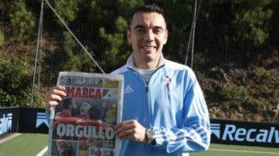 Iago Aspas se ha convertido en el referente nacional de LaLiga Fantasy...