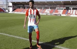 Fede Vico, el día de su presentación como nuevo jugador rojiblanco