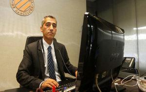 Ramón Robert, en su despacho.