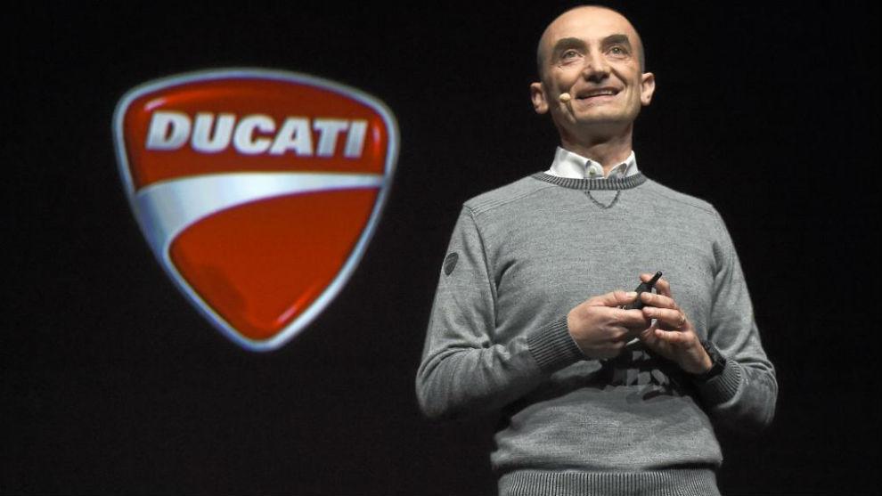 Claudio Domenicali, director ejecutivo de Ducati
