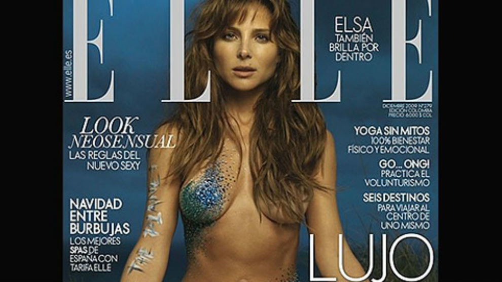 Elsa Pataky En La Revista Elle Marcacom