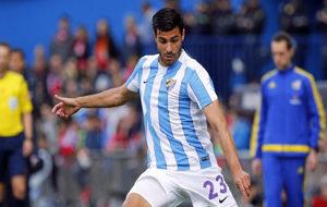 El jugador del Sevilla durante una acci�n en un partido.