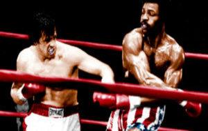 Rocky Balboa y Apollo Creed
