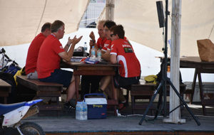 Reunión del equipo Honda