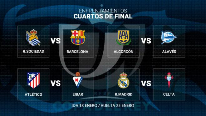 Copa del Rey: Así vivimos el sorteo de cuartos de final de la Copa ...