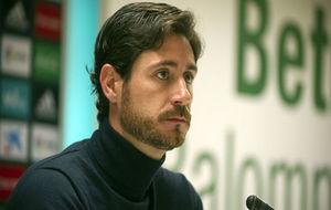 Víctor Sánchez, en la rueda de prensa de este viernes.
