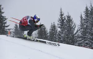 Alexis Pinturault, en pleno descenso.