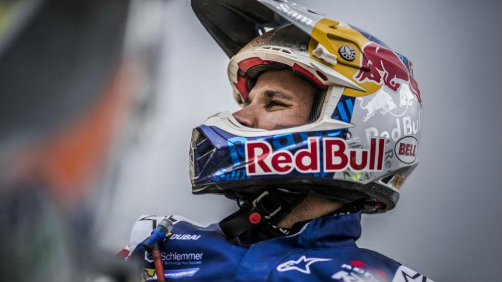 Sam Sunderland, piloto británico de KTM