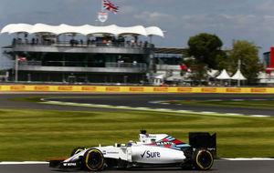 Felipe Massa, durante el pasado GP de Silverstone.