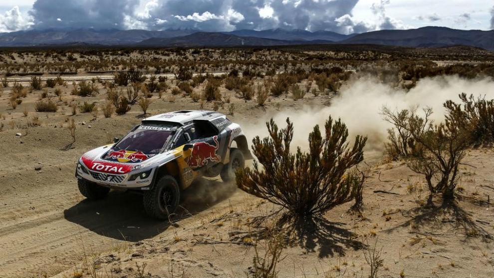 Sebastien Loeb, ganador de cuatro etapas en este Dakar