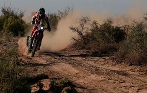 Joan Barreda, piloto de Honda, durante esta edición del Dakar