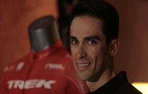 Alberto Contador, durante la entrevista.