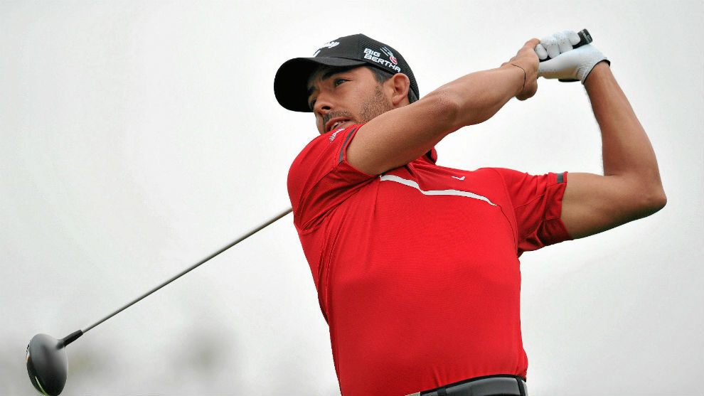 Pablo Larrazábal, en un torneo.