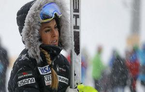 Lindsey Vonn, en las pistas de Altenmark