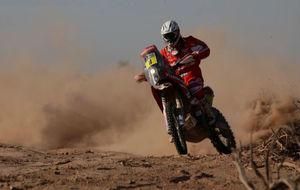 Gerard Farrés, ganador de la última etapa del Dakar
