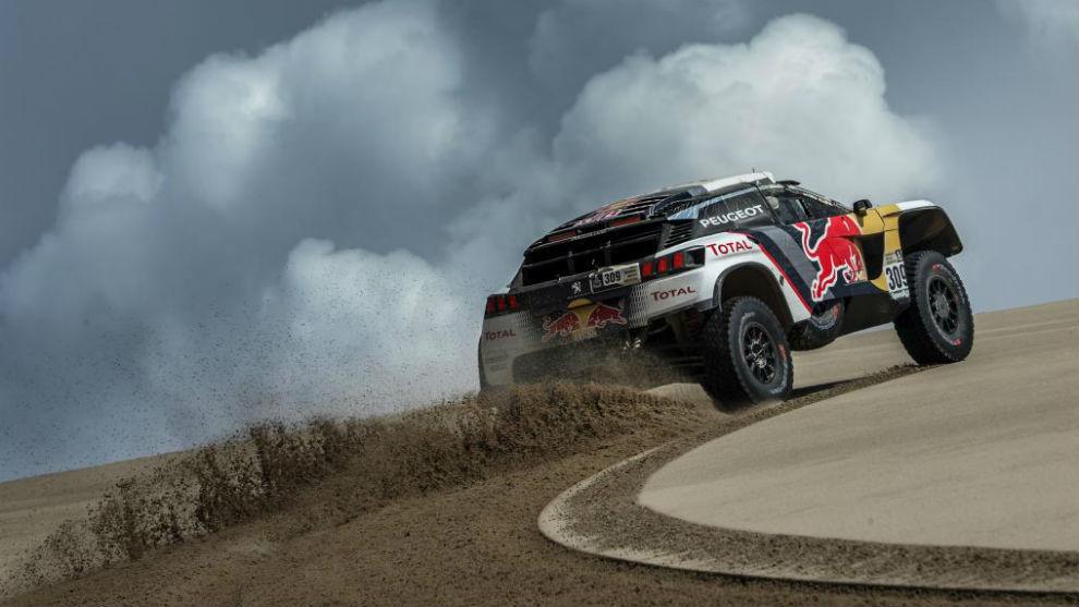 Loeb, ganador de la última etapa del Dakar
