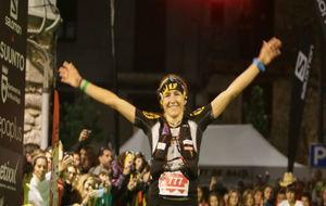 Nuria Picas, tras ganar Ultra Pirineu en 2015.