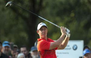 Rory McIlroy, durante la segunda jornada del Abierto de Sudáfrica.