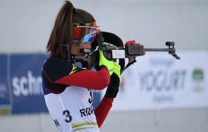 Victoria Padial, en una competición.