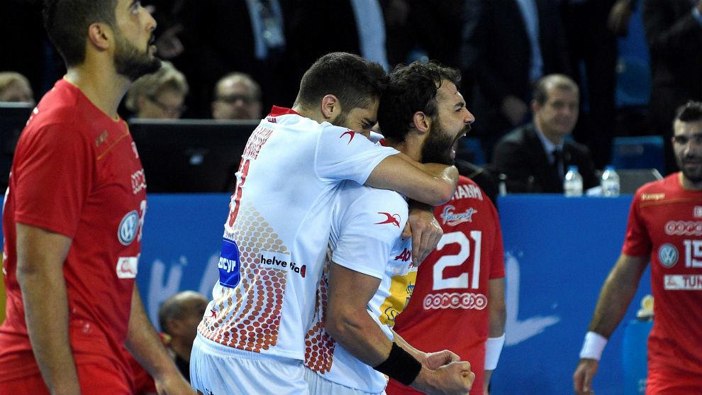 David Balaguer y Danie Sarmiento celebran la victoria