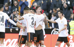 El Valencia ganó ocho jornadas después