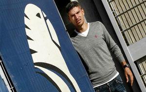 Salva Sevilla posa para MARCA en la Ciudad Deportiva