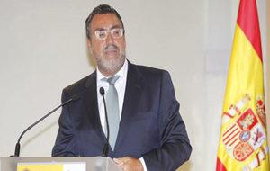 Miguel Carballeda durante una intervención en el CSD.