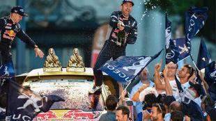 Petrhansel, ganador del Dakar en coches