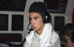 Esteban Ocon, durante la temporada pasada
