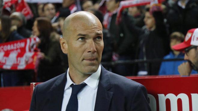 Zidane names strong real madrid xi for sevilla test for Madrid sevilla marca