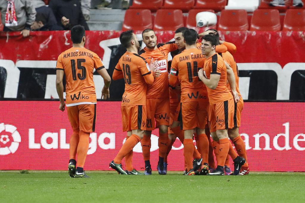 El Eibar consiguió los tres puntos ante el Sporting
