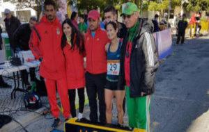 Inés Henriques, con su equipo
