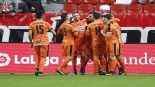 El Eibar consigui� los tres puntos ante el Sporting