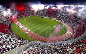 Aspecto del Monumental de River Plate.