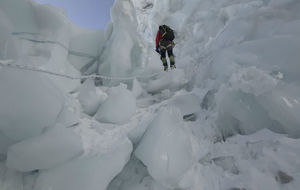 La expedición de Txikon, en el Everest.