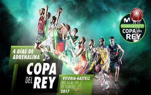 Imagen oficial de la Copa del Rey 2017 de la ACB