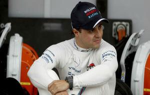Felipe Massa, durante un GP de la pasada temporada