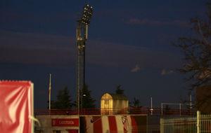 La Ciudad Deportiva del Atlético sin luz durante el entrenamiento por...