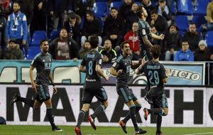 Iñigo Martínez marcó el 0-1 de la Real en Málaga al convertir un...