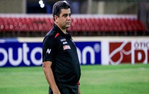 Marcelo Cabo durante un partido.