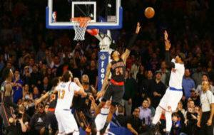 Con este tiro pudo haber dado la victoria Melo a los Knicks