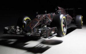 McLaren presentó en un acto de patrocinio este espectacular diseño...