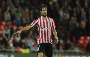 Yeray durante un partido de esta temporada con el Athletic.