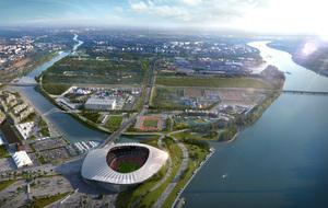 Imagen virtual del Anillo Olímpico