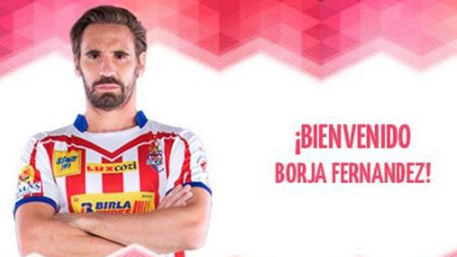El fichaje de Borja Fernández ha sido anunciado en las redes del...